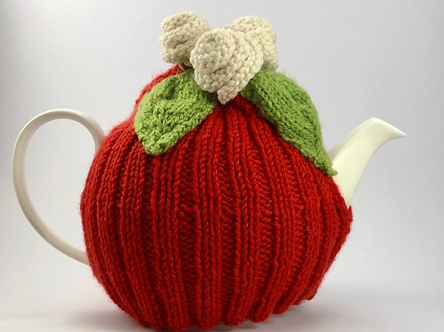 Red Roses Cosy 4-6 cup pot