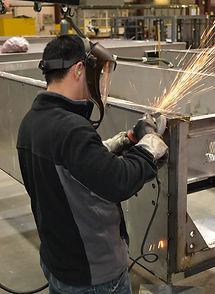 ASI Manufacturing Floor Welding