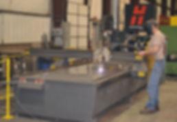 ASI Manufacturing Floor Plama Cutter