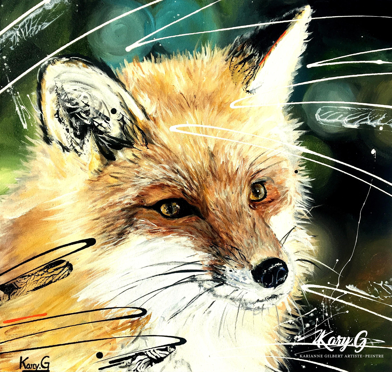 Le renard roux+logo
