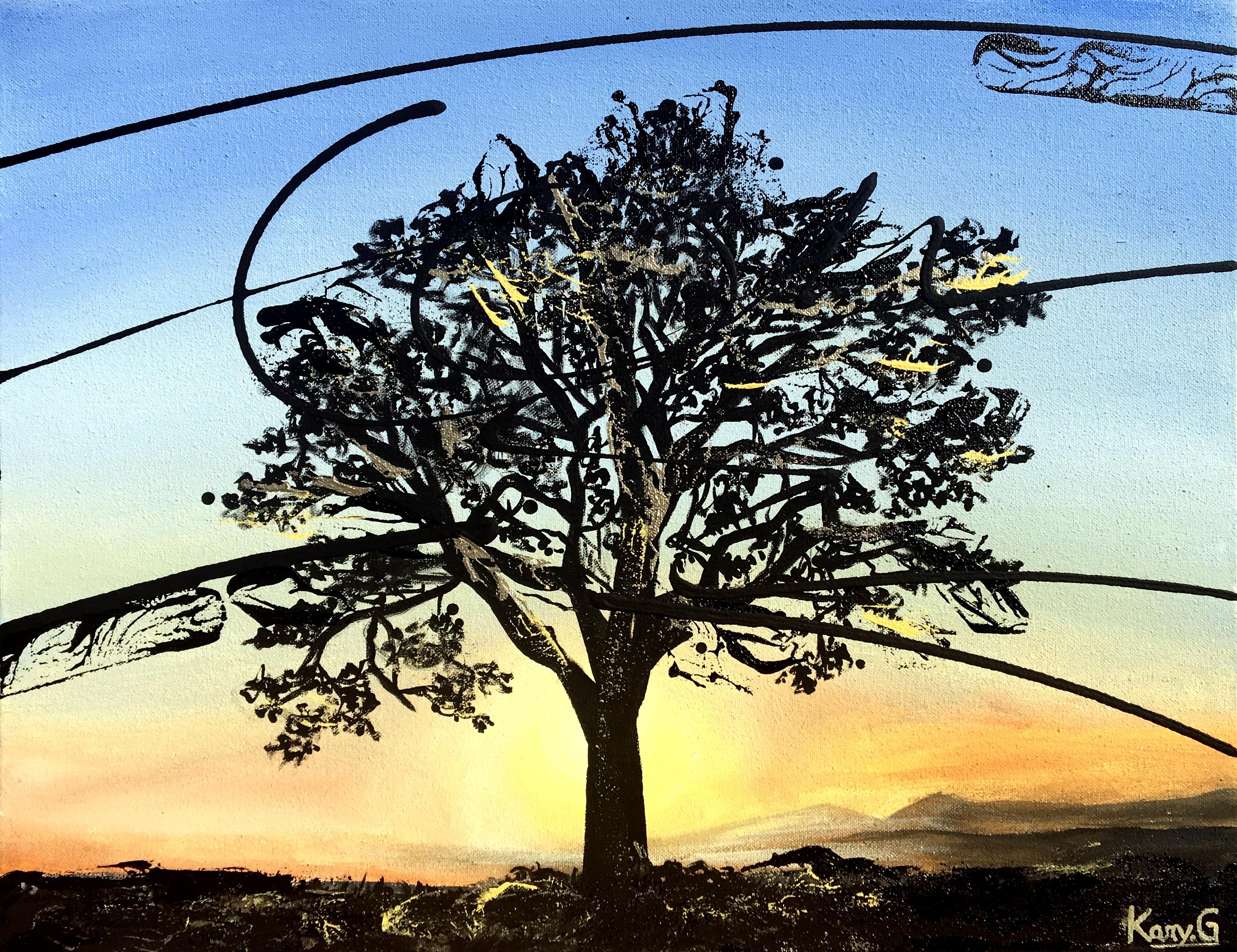 Chêne au levé du jour