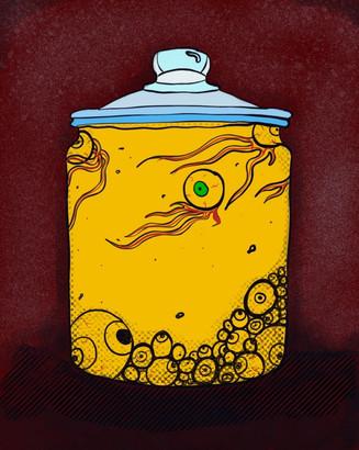 Jar of Eyes, 2020.