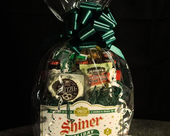 Shiner Holiday Cheer Gift Basket