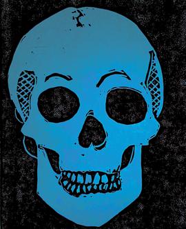Blue Skull, 2019_