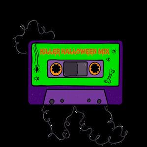 Killer Halloween Mixed Tape