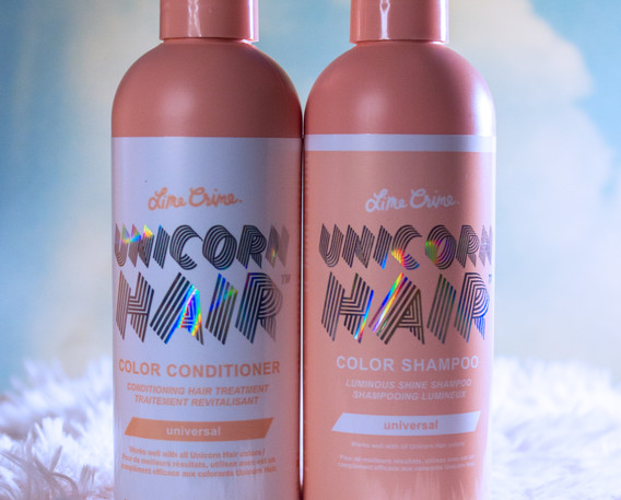 Lime Crime Unicorn Hair Universal Color Shampoo and Conditioner