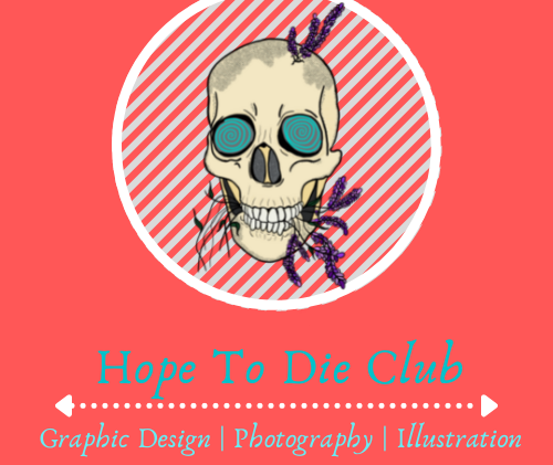 Hope To Die Club Logo, 2021