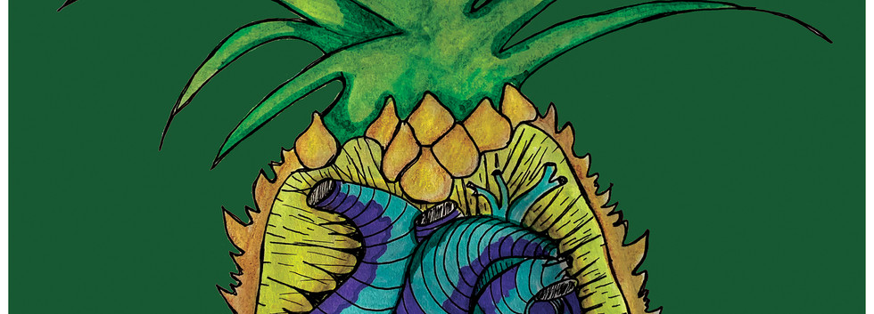 Pineapple, 2020.