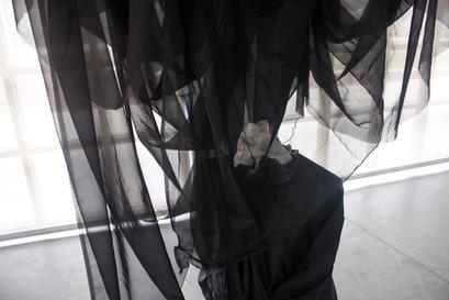 The Veil (detail), 2019.