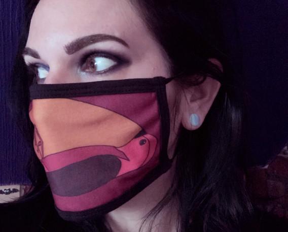 Beautifully Grotesque Face Mask