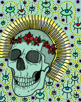 Skull and Pattern, 2021.