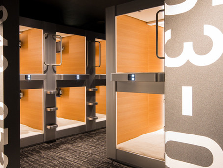 Foreign Visitors and Capsule Hotels: Staging a Comeback