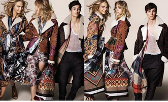 Burberry's fall/winter: Art and tradition