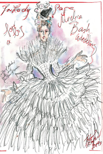 What will Lady Gaga wear at the wedding?