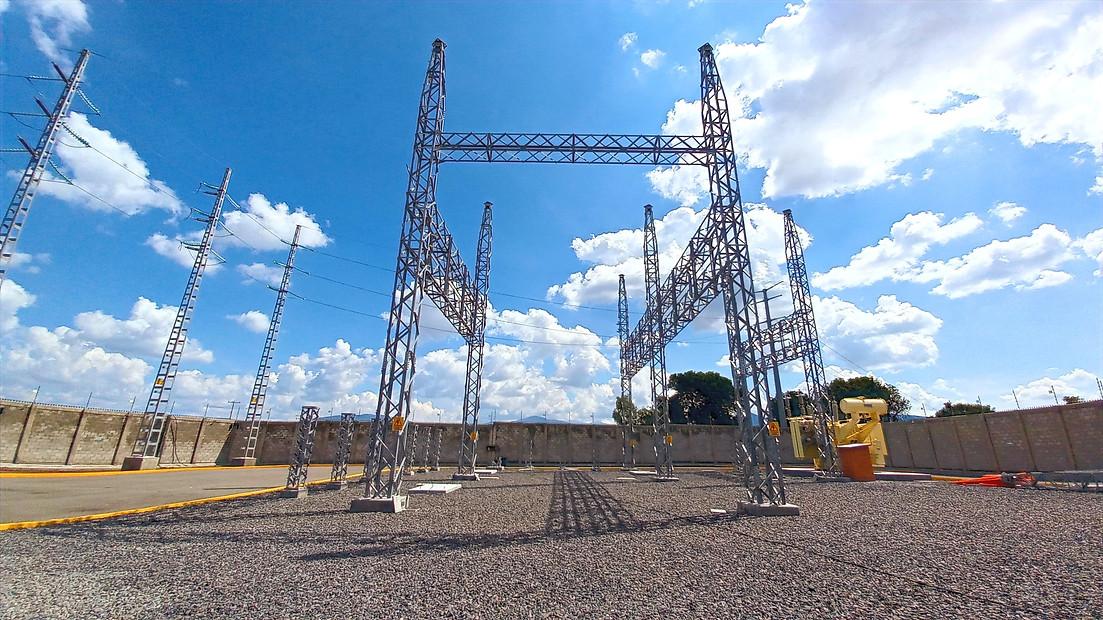 Sub Estacion Electrica CFE Puerta Grande