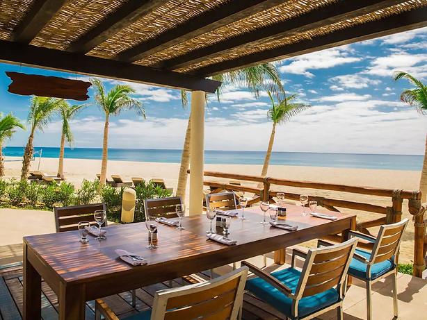 Vista Restaurante La Hacienda Beach Grill