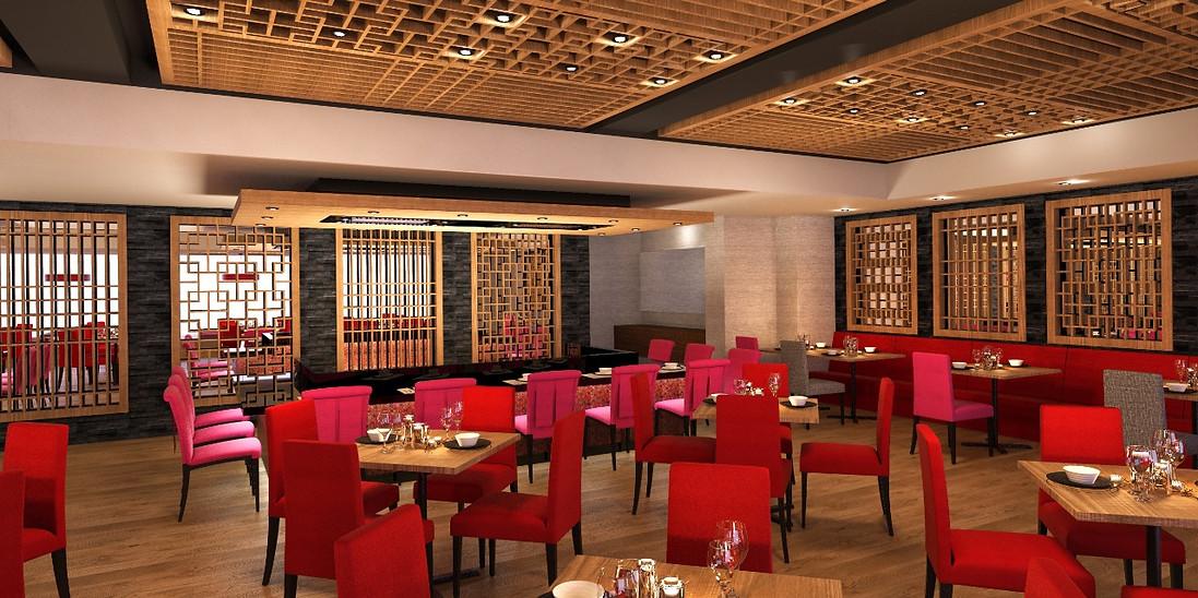 Render Restaurante Asiatico Ayami
