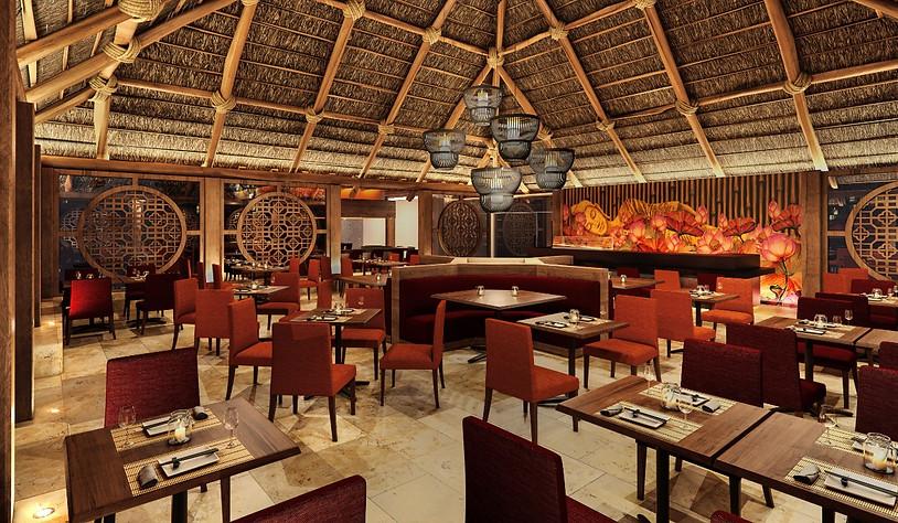 Restaurante Asiatico Grand Krystal Puerto Vallarta