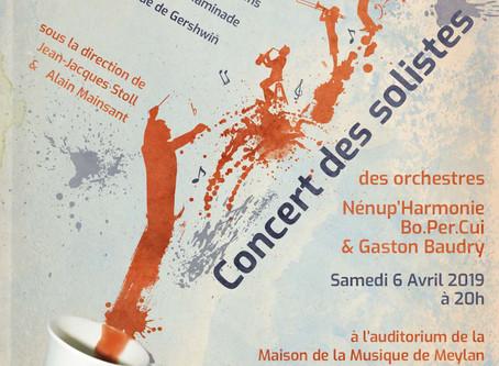 Le concert des solistes | Samedi 6 Avril à 20h