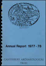 Canterbury's Archaeology 1977–1978