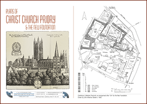 Plans of Christ Church Priory A4 Leaflet