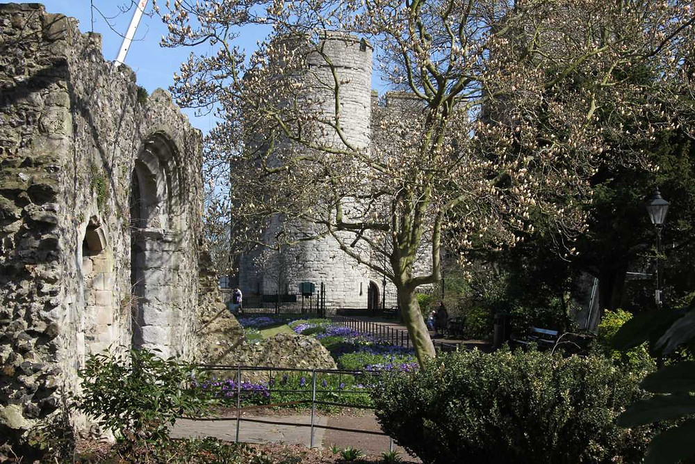 Westgate Towers as seen from the gardens