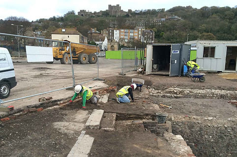 St James, Dover: Russell Street excavation