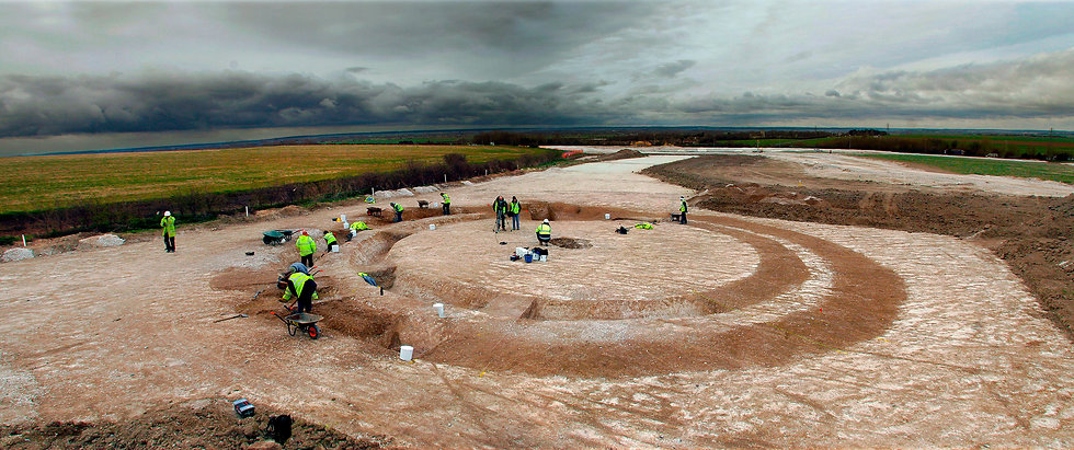 Thanet Earth excavation