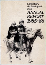 Canterbury's Archaeology 1985–1986
