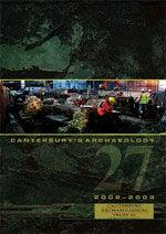 Canterbury's Archaeology 2002–2003