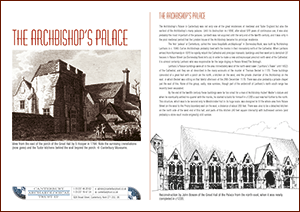 The Archbishop's Palace A4 Leaflet