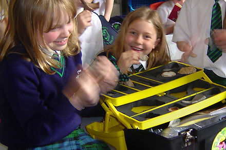 Pupils with a CAT KIT