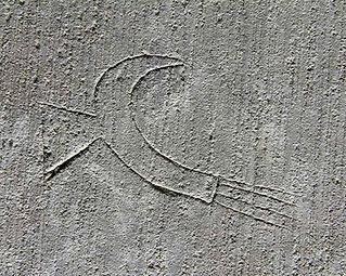 Corona stair tower chambers: mason's mark