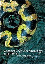Canterbury's Archaeology 2012–2013