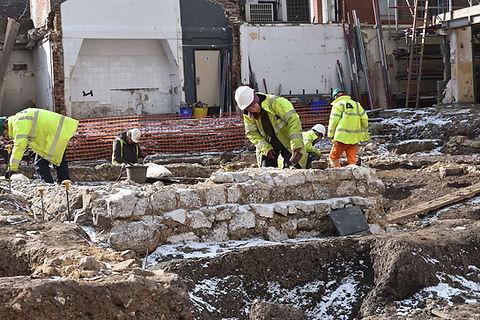 Slatters Hotel excavation