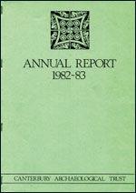 Canterbury's Archaeology 1982–1983