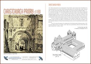 Christ Church Priory c1160 A4 Leaflet