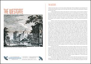 Westgate A4 Leaflet