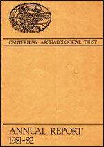 Canterbury's Archaeology 1981–1982