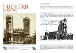 St Augustine's Abbey A4 Leaflet