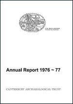 Canterbury's Archaeology 1976–1977