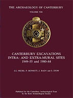 Canterbury Excavations: Intra- and Extra-Mural Sites