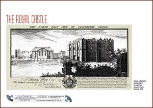 Canterbury Castle A4 Leaflet