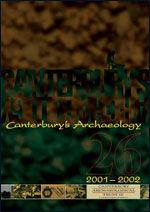 Canterbury's Archaeology 2001–2002
