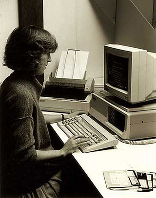 The Trust's first computer