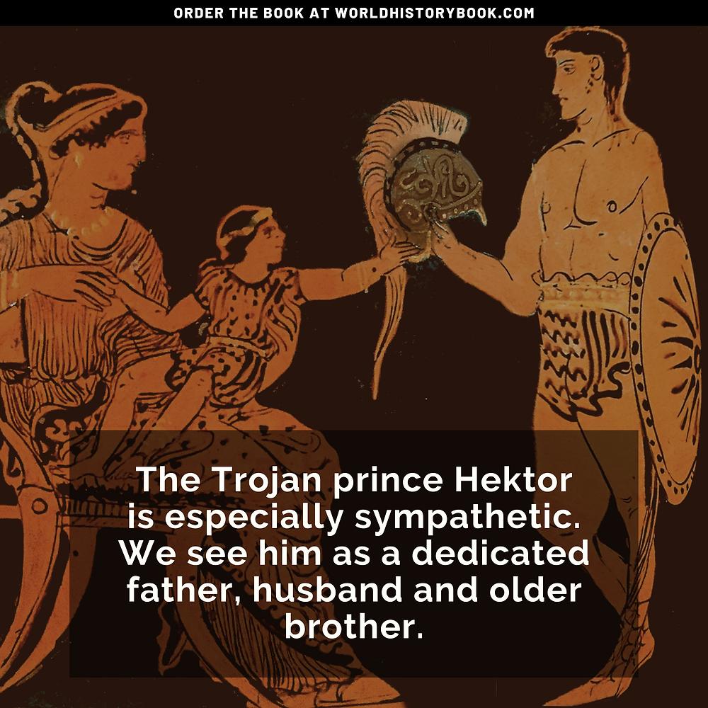 the great world history book stephan dinkgreve ancient greece homer iliad odyssey trojan war hektor andromache