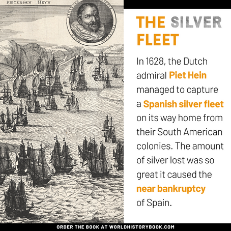 The capture of the silver fleet
