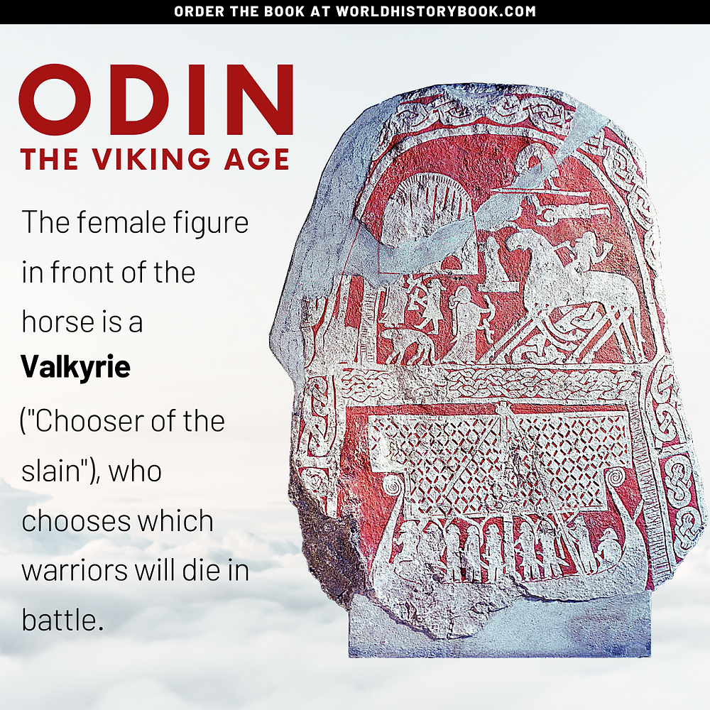 the great world history book stephan dinkgreve viking norse mythology odin valhalla valkyries