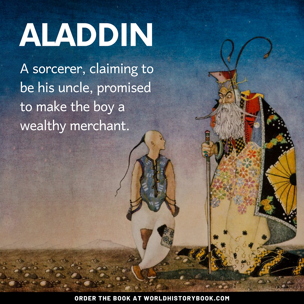 the great world history book stephan dinkgreve arabian nights one thousand and one nights aladdin original