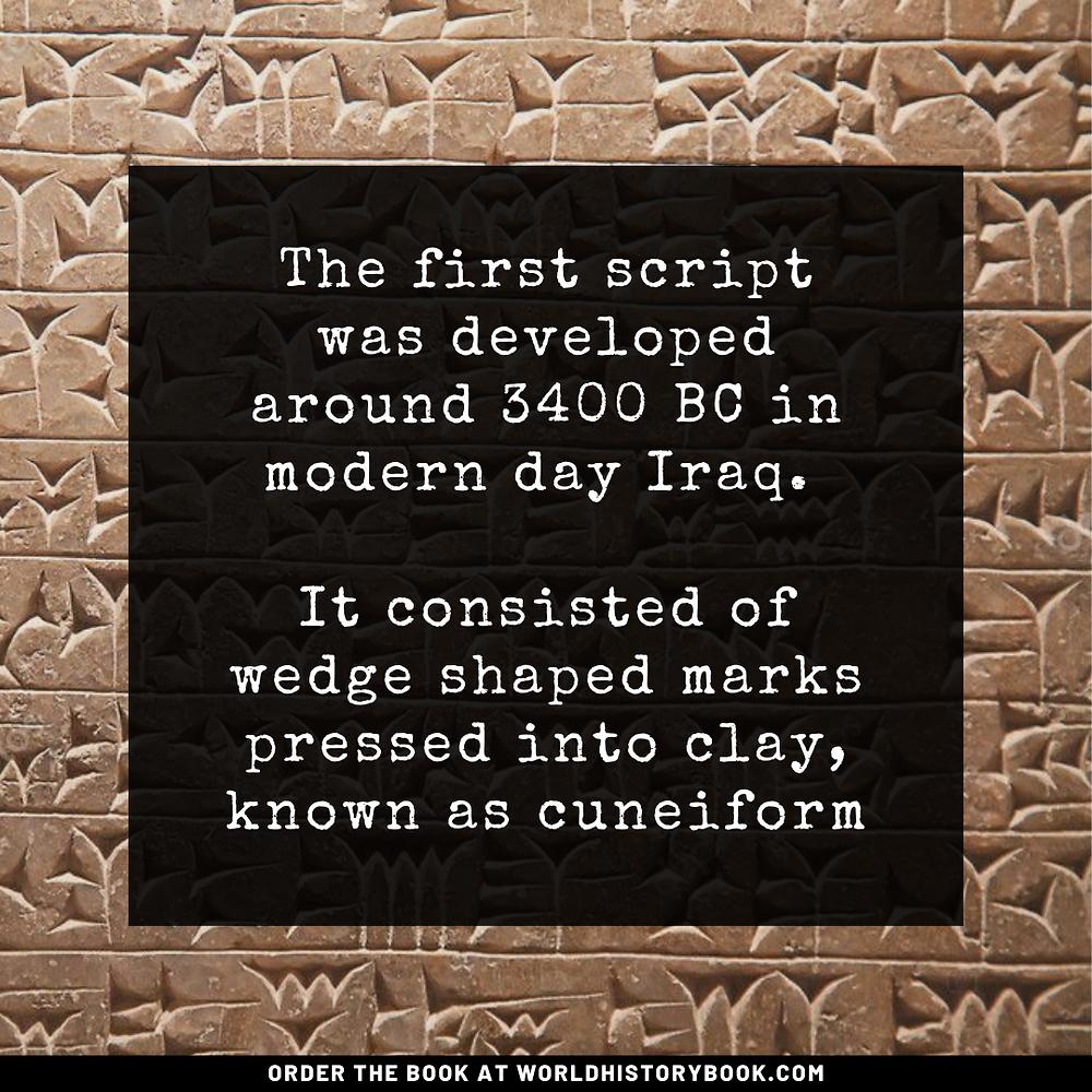 the great world history book stephan dinkgreve mesopotamia sumeria babylon cuneiform tablet script